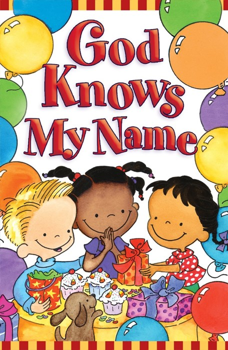God Knows My Name (Pack Of 25) (Tracts)