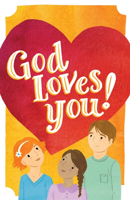 God Loves You! (Pack Of 25) (Tracts)