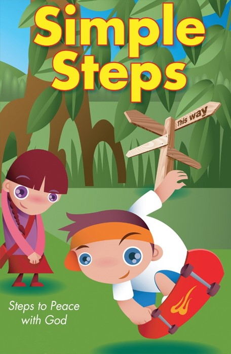 Simple Steps To Peace With God (Pack Of 25) (Tracts)