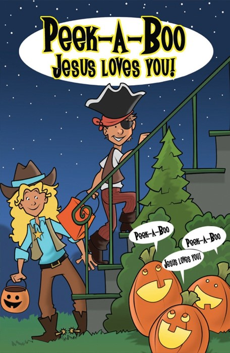 Peek-A-Boo Jesus Loves You (Pack Of 25) (Tracts)