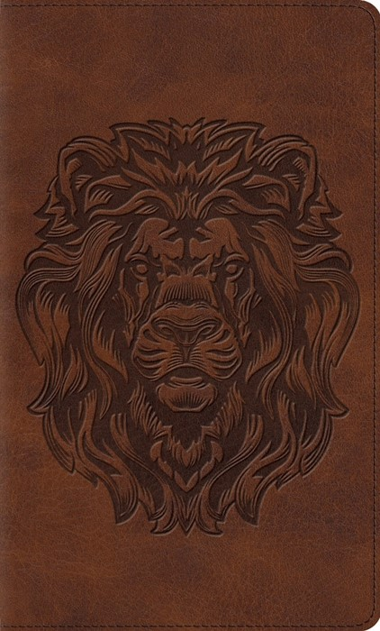 ESV Kid's Thinline Bible, Trutone, Royal Lion (Imitation Leather)