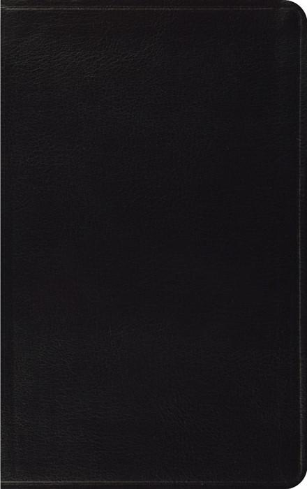 ESV Thinline Bible, Black (Bonded Leather)