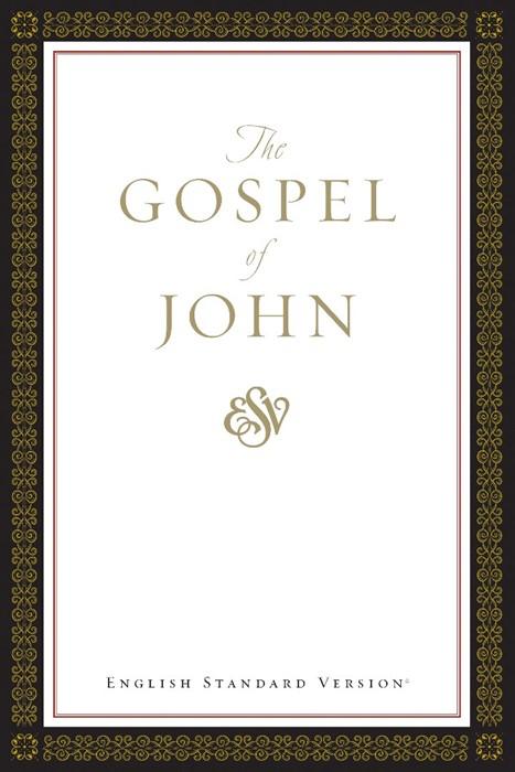 ESV Gospel Of John, Paperback, Classic Design (Paperback)
