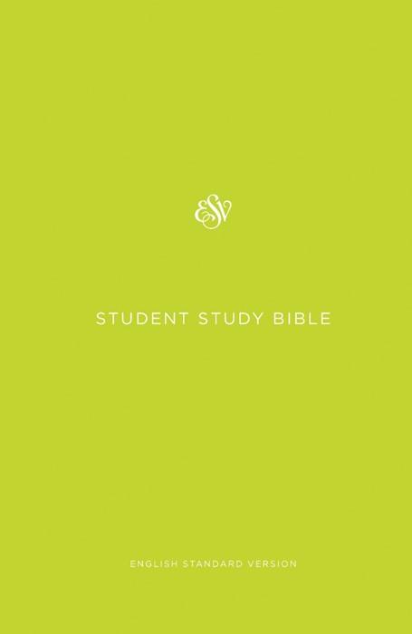 ESV Student Study Bible, Green (Hard Cover)