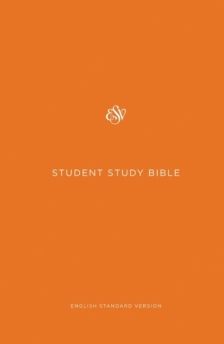 ESV Student Study Bible, Orange (Hard Cover)