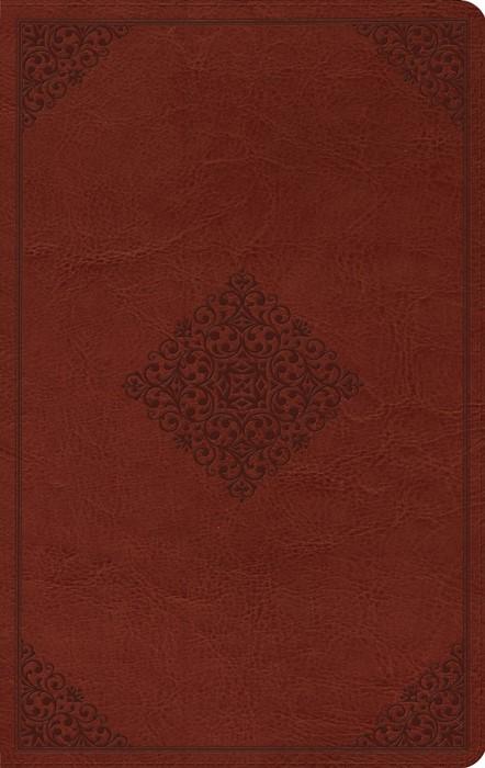 ESV Value Thinline Bible, Trutone, Tan, Ornament Design (Imitation Leather)
