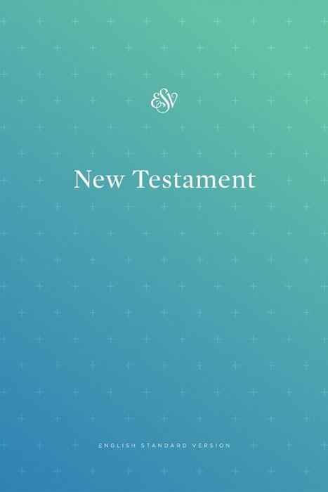 ESV Outreach New Testament, Paperback, Blue (Paperback)