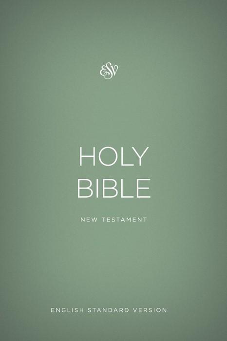 ESV Outreach New Testament, Paperback, Green (Paperback)