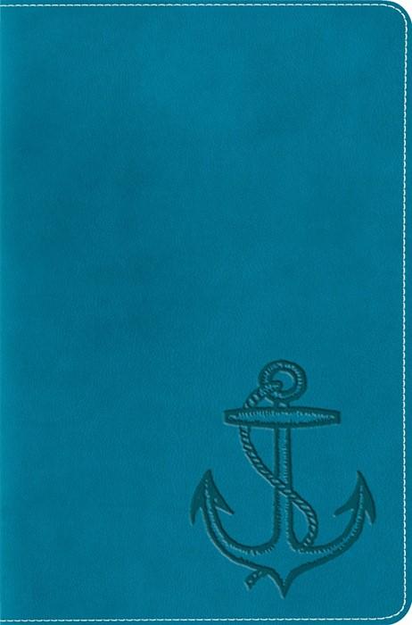 ESV Compact Bible, Trutone, Ocean Anchor (Imitation Leather)