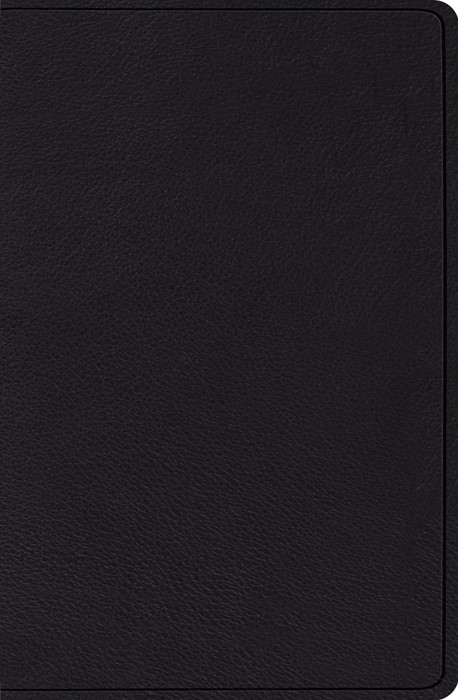 ESV Verse-By-Verse Reference Bible, Black (Genuine Leather)
