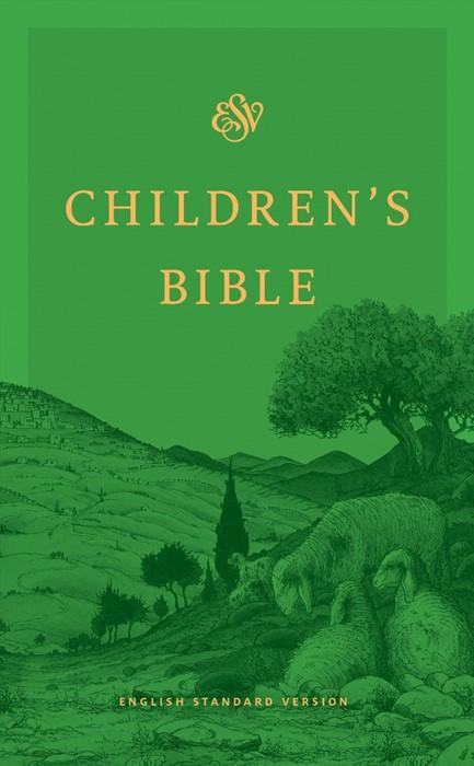ESV Children's Bible, Green (Hard Cover)