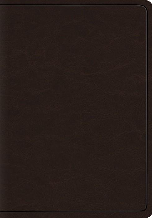 ESV Heirloom Wide Margin Reference Bible, Goatskin, Brown (Genuine Leather)