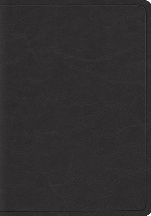 ESV Heirloom Wide Margin Reference Bible, Goatskin, Black (Genuine Leather)