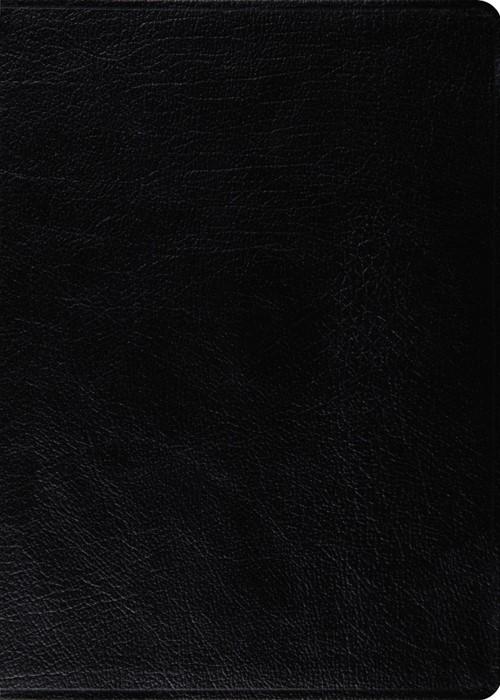 ESV Macarthur Study Bible, Personal Size, Black (Genuine Leather)