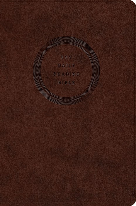 ESV Daily Reading Bible: Through The Bible In 365 Days (Imitation Leather)