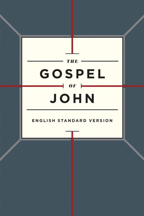ESV Gospel Of John, Paperback, Cross Design (Paperback)