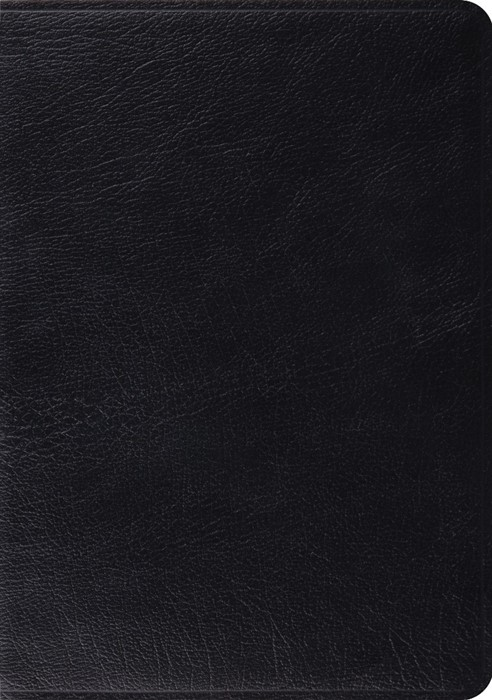 ESV Study Bible, Black, Indexed (Genuine Leather)