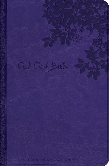 God Girl Bible Trutone, Purple (Imitation Leather)