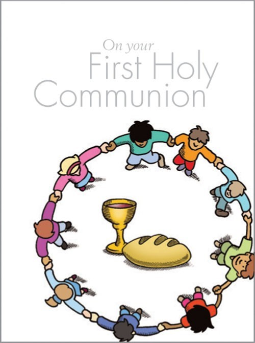 On Your First Holy Communion (Hard Cover)