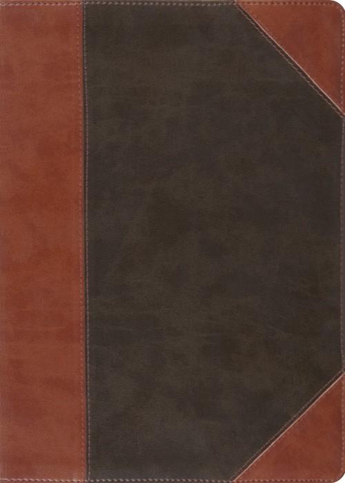 ESV Macarthur Study Bible (Trutone, Forest/Tan, Portfolio De (Imitation Leather)