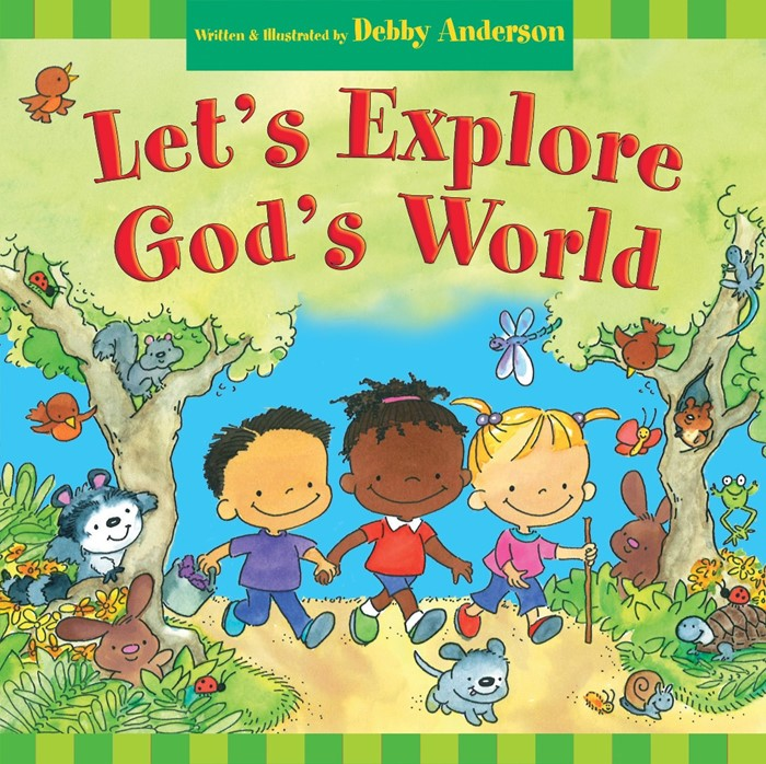 Let'S Explore God'S World (Hard Cover)