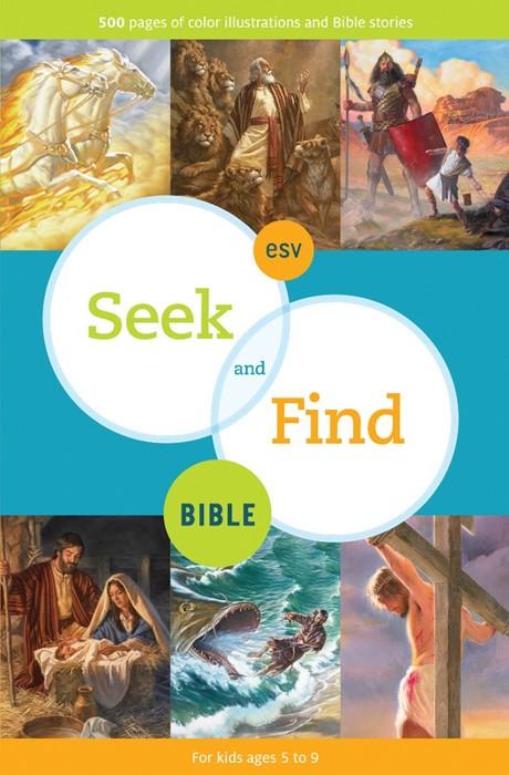 ESV Seek And Find Bible (Hard Cover)