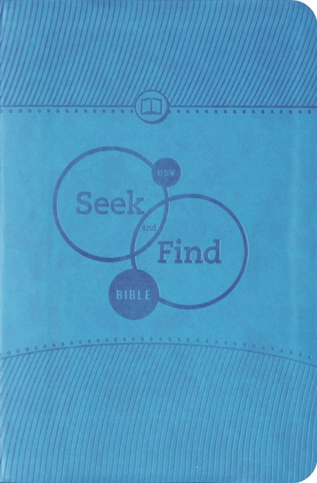 ESV Seek And Find Bible Trutone, Blue (Imitation Leather)