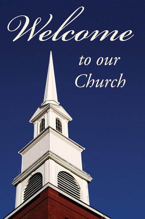 Welcome To Our Church (Pack Of 25) (Tracts)