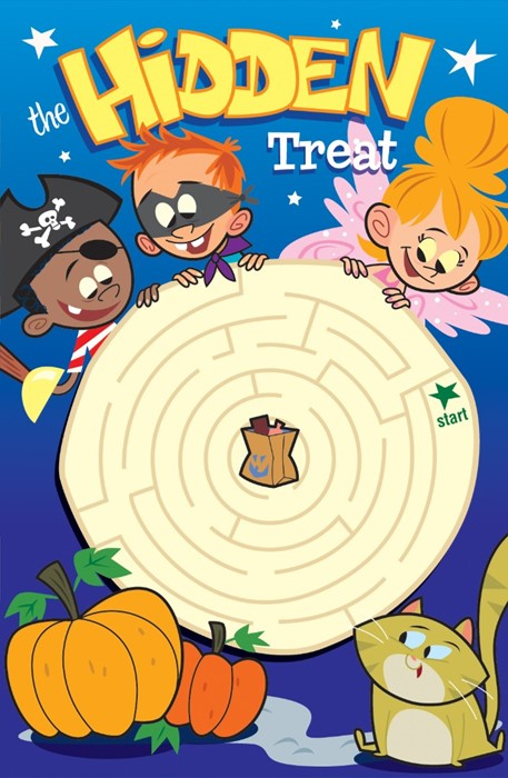 The Hidden Treat (Pack Of 25) (Tracts)