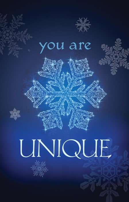 You Are Unique (Pack Of 25) (Tracts)