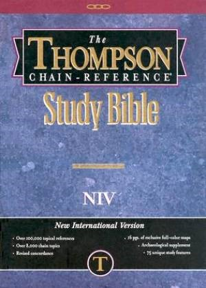 NIV Thompson Chain-Reference Bible (Hard Cover)