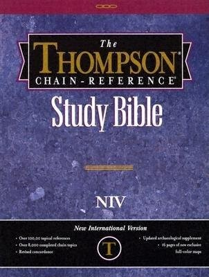 NIV Thompson Chain-Reference Bible, Burgundy (Bonded Leather)