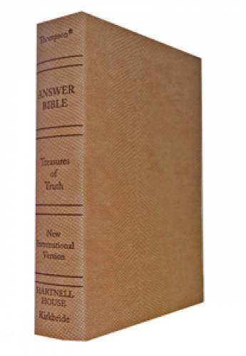NIV The Answer Bible (Imitation Leather)