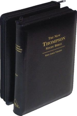KJV Thompson Chain Reference Study Bible (Paperback)