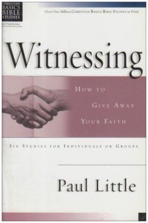 Christian Basics: Witnessing (Pamphlet)