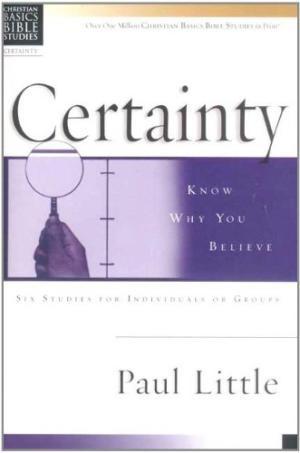 Christian Basics: Certainty (Pamphlet)
