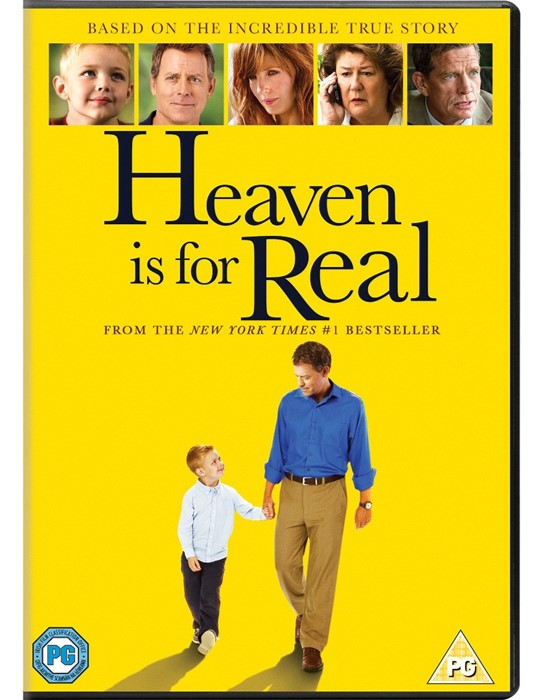 Heaven is For Real (Film) DVD (DVD)