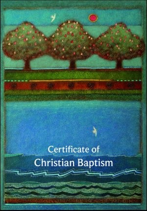 Cert of Christian Baptism B20A (Cards)