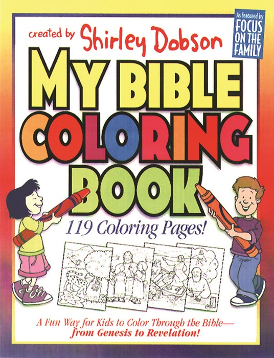 My Bible Coloring Book (Novelty Book)
