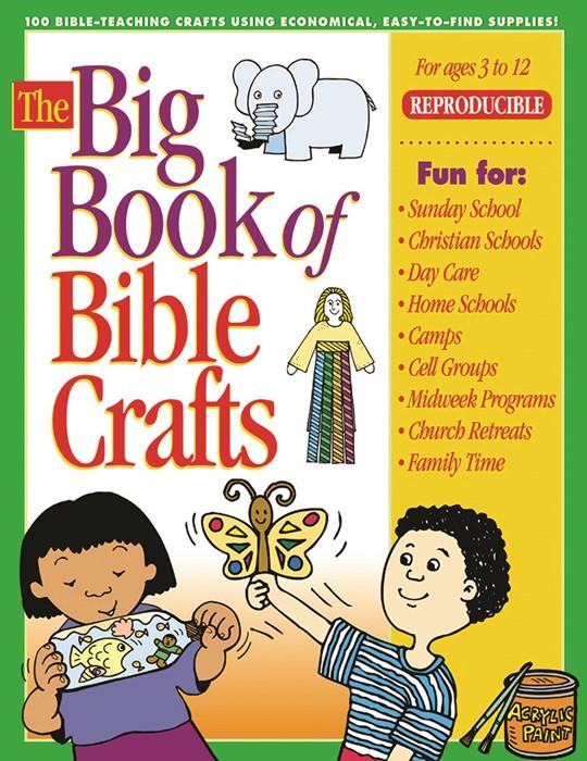 Big Book Of Bible Crafts (Paperback)