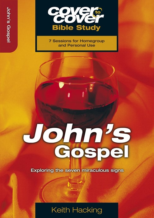 Cover to Cover Bible Study: John's Gospel (Paperback)