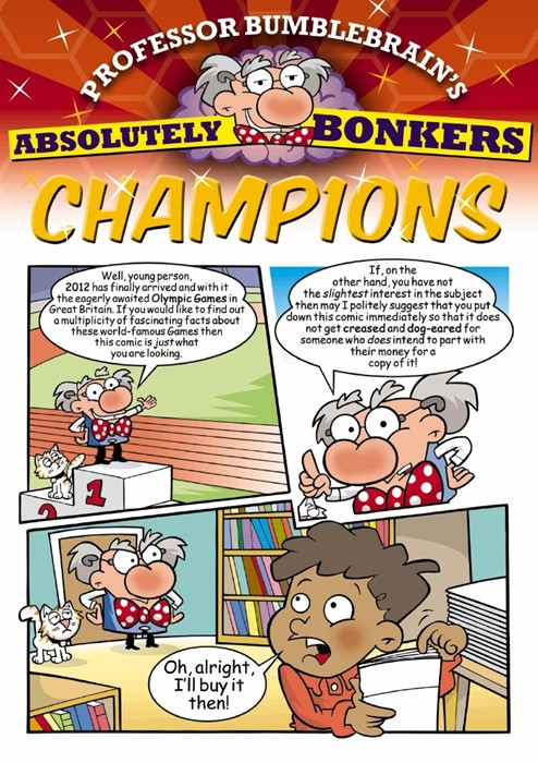 Professor Bumblebrain's Absolutely Bonkers Champions (Paperback)