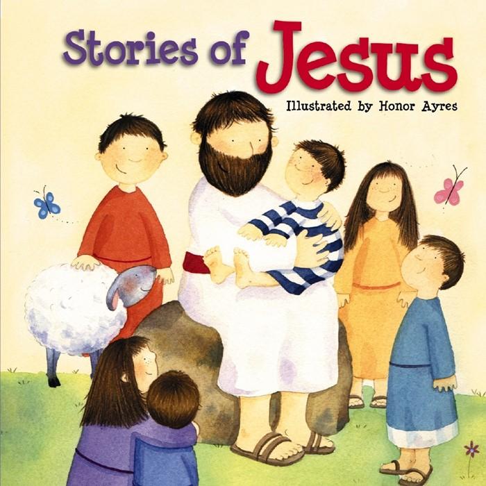 Stories Of Jesus (Board Book)