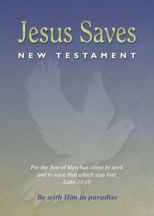 NASB Jesus Saves New Testament (Paperback)