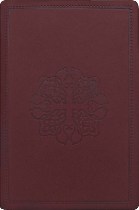 NASB Compact Bible, Burgundy (Leathertex)
