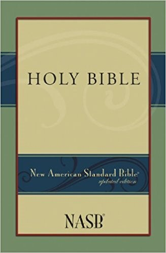 NASB Holy Bible (Paperback)