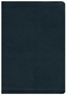 NASB Side-Column Reference Wide Margin Bible, Black (Leather Binding)