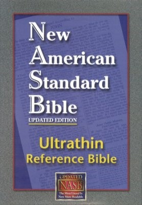 NASB Ultrathin Reference Bible (Bonded Leather)