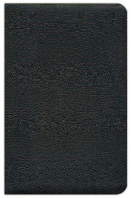 NASB Ultrathin Reference Bible, Black (Leather Binding)