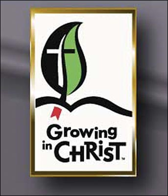 Growing In Christ Lapel Pin (Pack Of 5) (Poster)